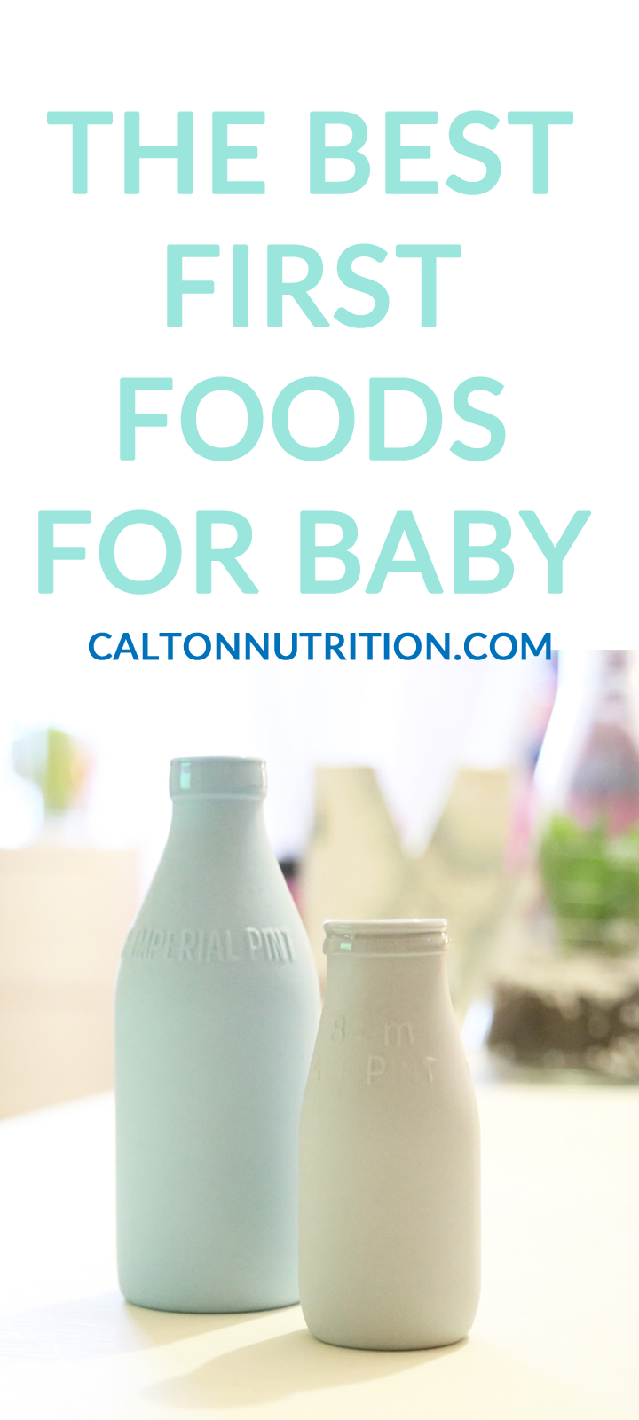 What is best after breast? | Best first foods for babies CaltonNutrition.com @caltonnutrition