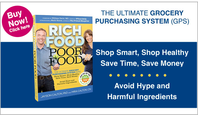 Rich food poor food - The ultimate grocery purchasing system