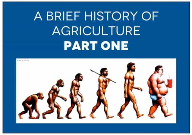 A Brief History of Agriculture, Part I – Nasty, Brutish & Short