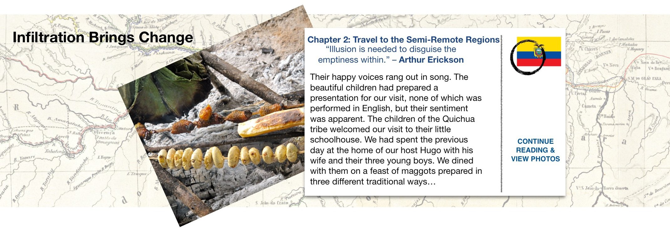 Chapter 2 Travel to the semi remote regions