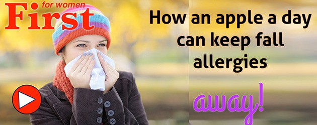 How An Apple A Day Can Keep Fall Allergies Away.