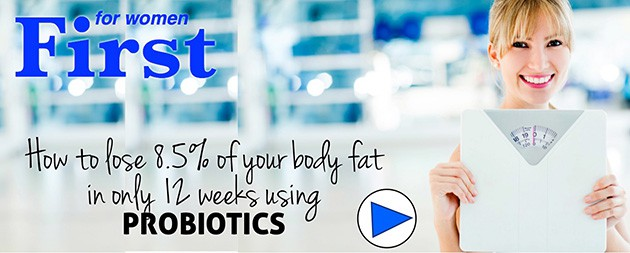How To Lose 8.5% Of Your Body Fat In Only 12 Weeks Using PROBIOTICS