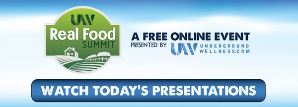 Today is the day, hear us on the Real Food Summit! It's FREE!