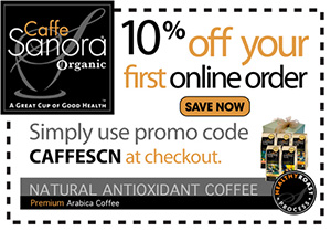 Caffe Sanora - 10% off with code CAFFESCN