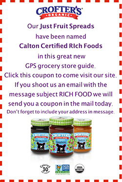 Crofter's Organic - Just Fruit Spreads