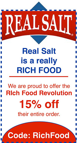 Real Salt - 15% off with code RichFood