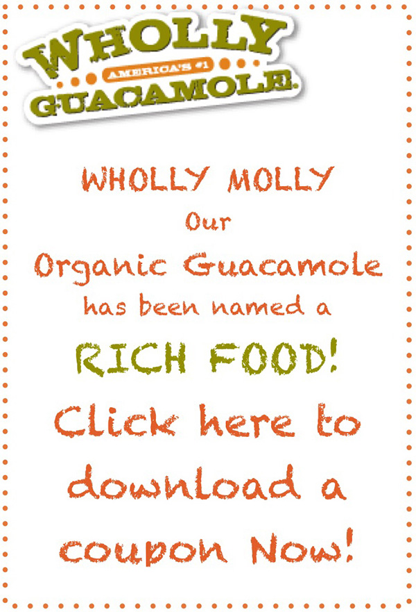 Wholly Organic Guacamole - Click to download coupon