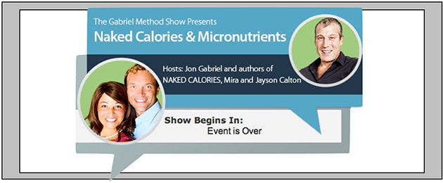 Don't miss our show with Jon Gabriel Tomorrow! – Author of The Gabriel Method