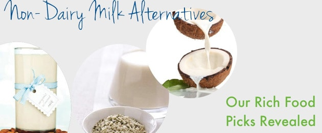 Non-Dairy Milks: Our Top Three Recommendations!