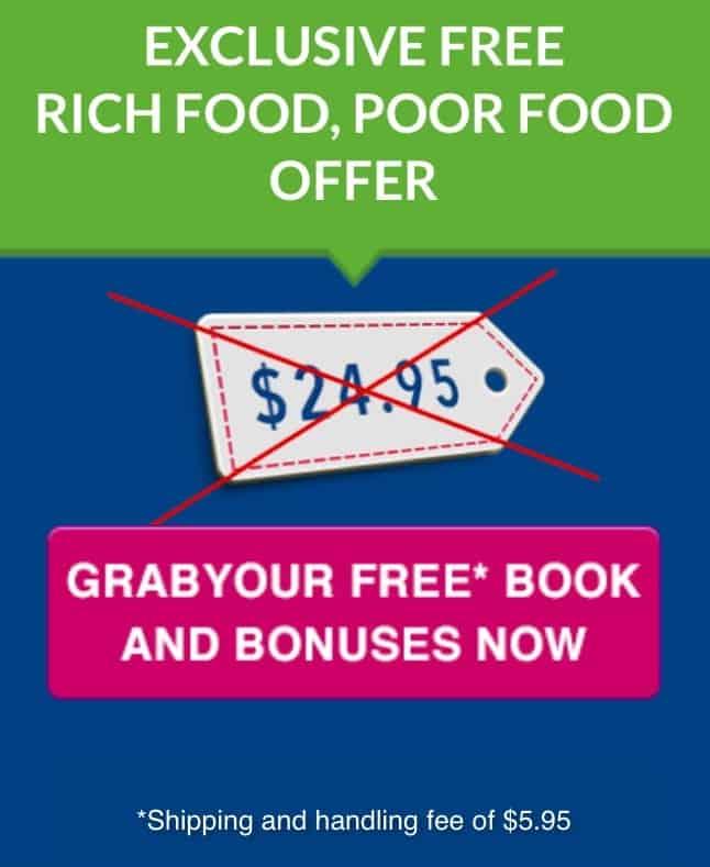 Exclusive Free Rich Food Poor Food Offer