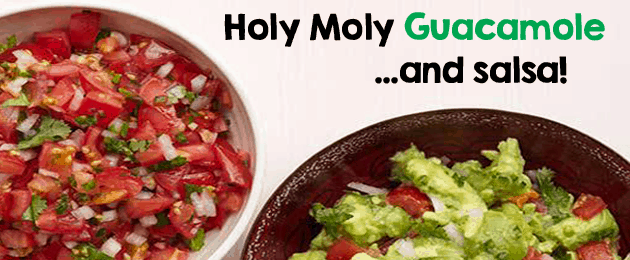 Holy Moly Guacamole… and Salsa!