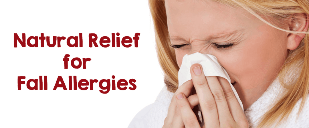 Natural Relief for Fall Allergies