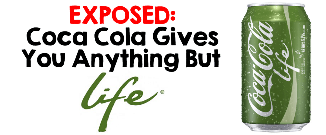 Coca-Cola Gives You Anything BUT Life!