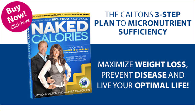 The Caltons 3-Step Plan to Micronutrient Sufficiency