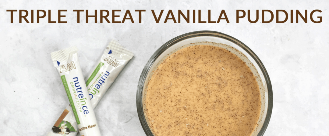 Triple Threat Vanilla Pudding Recipe