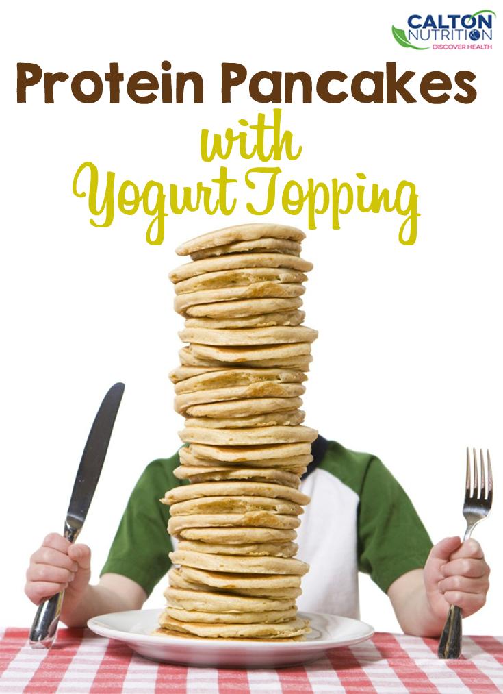 protein pancakes #caltonnutrition