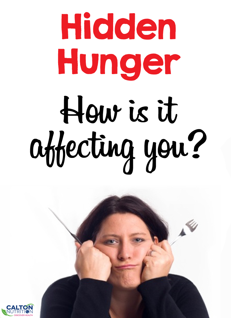 Hidden Hunger: how's it affecting you? #caltonnutrition #micronutrientmiracle