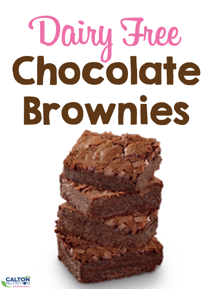 Dairy free chocolate brownies #caltonnutrition #micronutrientmiracle