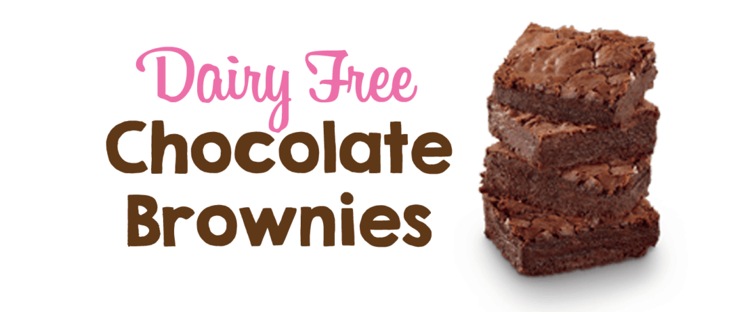 Chocolate Brownies (Dairy Free!)