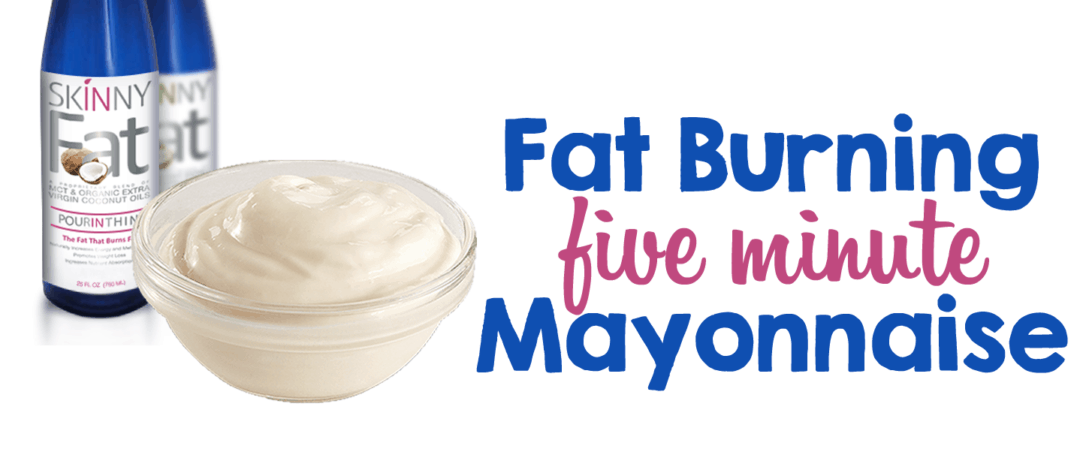 Fat Burning Five-Minute Mayonnaise
