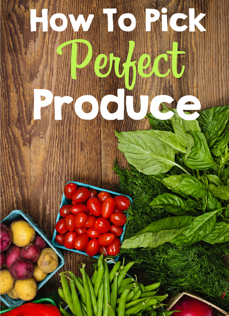 How to pick perfect produce #caltonnutrition
