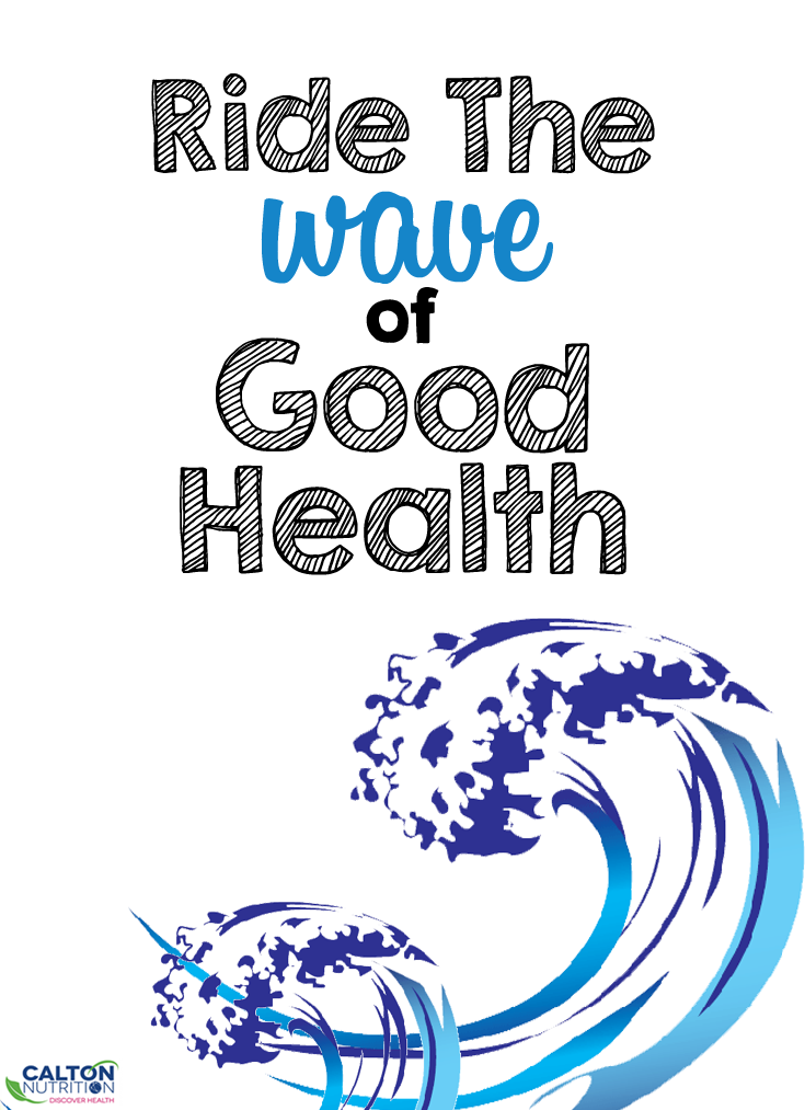 Ride The wave of Good Health #CaltonNutrition