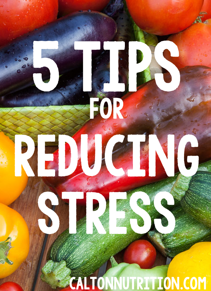 stress reduction tips from @caltonnutrition