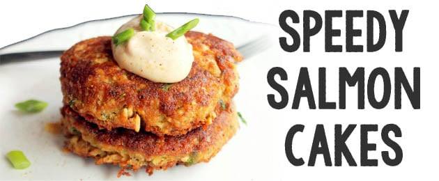 Speedy Salmon Cakes