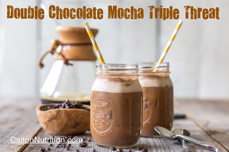 Double Chocolate Mocha Triple Threat