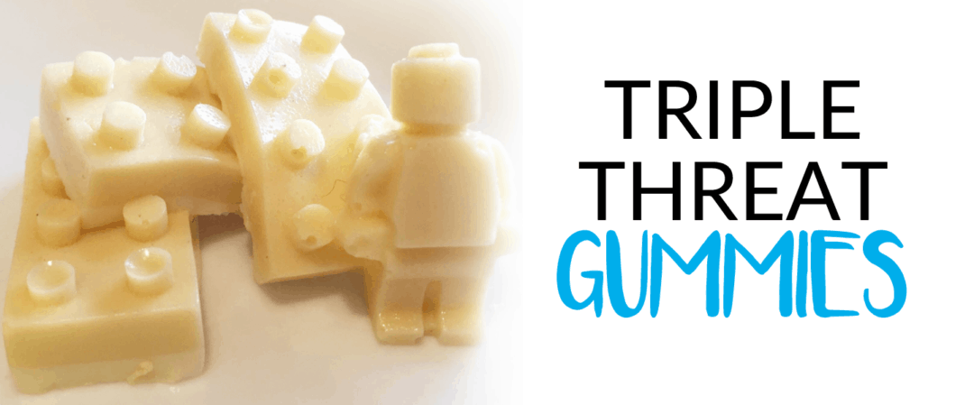 Triple Threat Gummy Treats