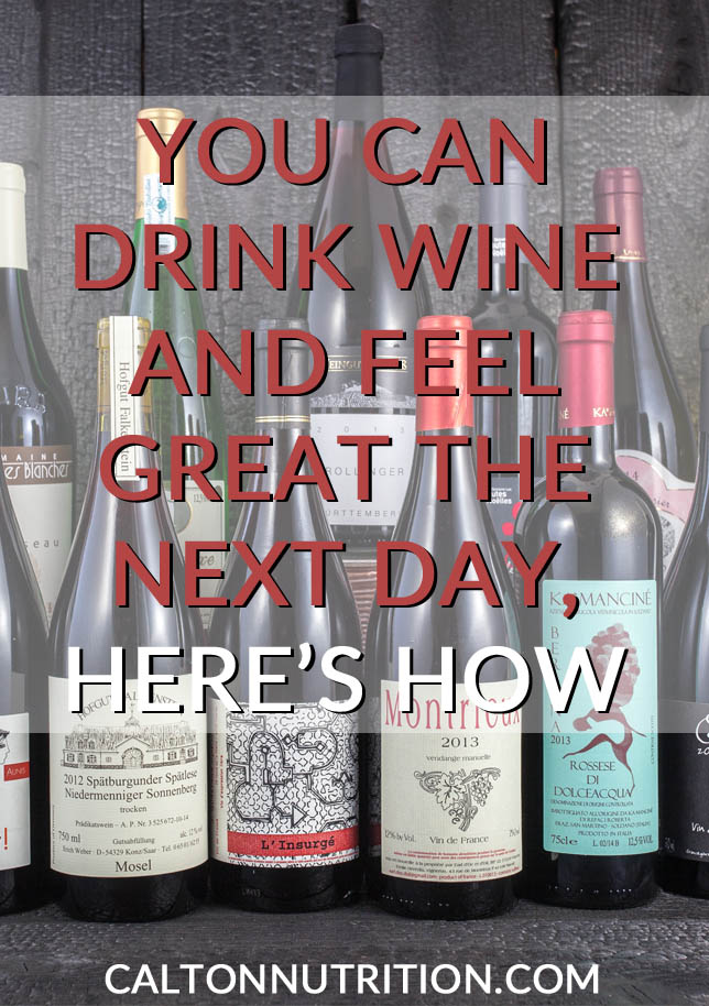 Feel great when you drink the right kind of wine!