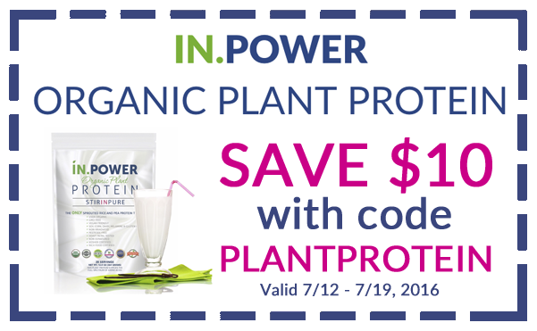 IN.POWER plant protein coupon!