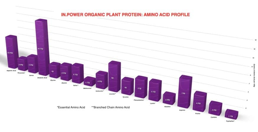 IN.POWER Organic Plant Protein is Here!