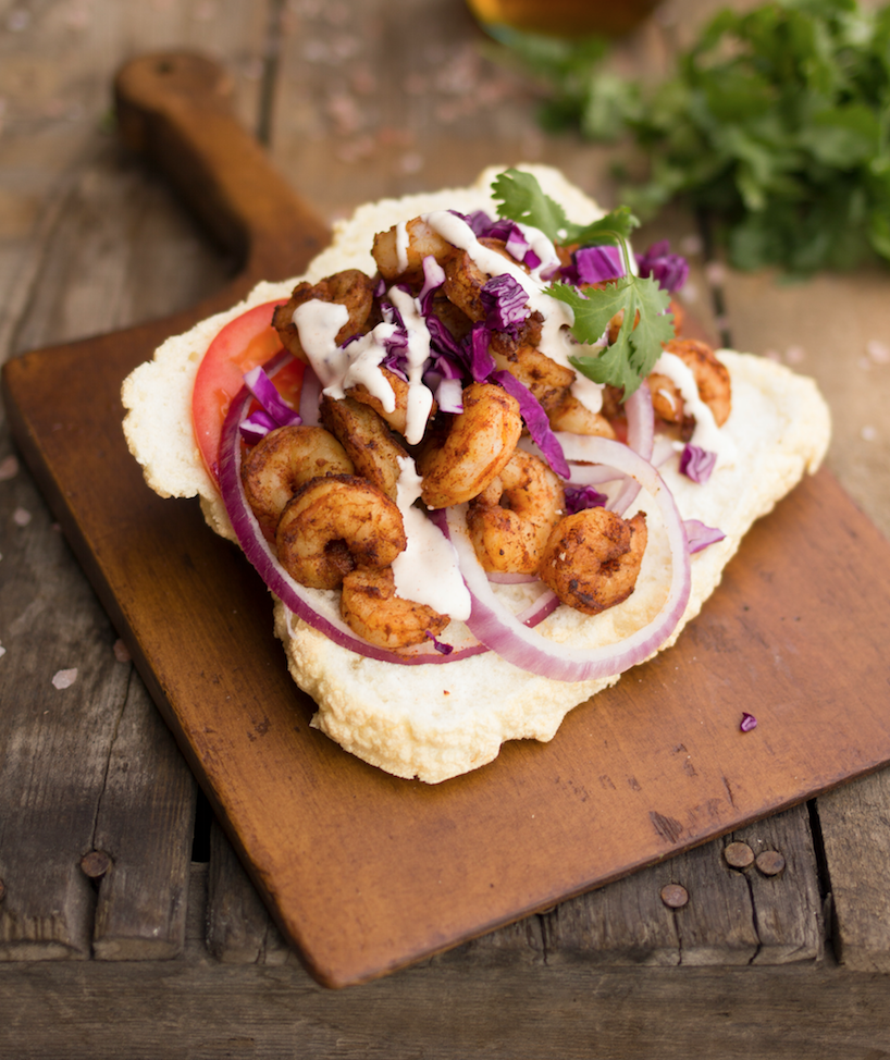 Cajun Shrimp Po Boys | CaltonNutrition.com