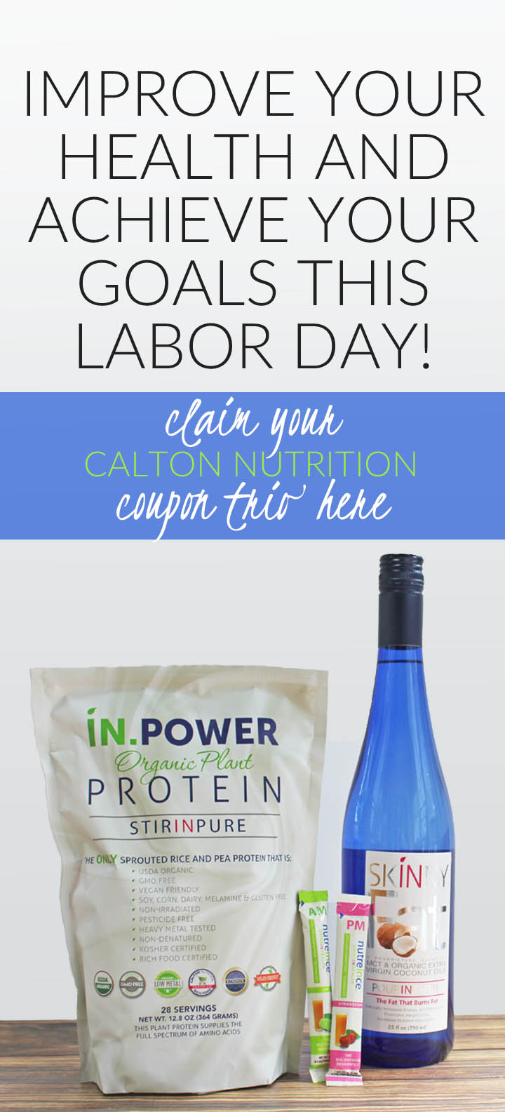 Labor Day Sale | CaltonNutrition.com