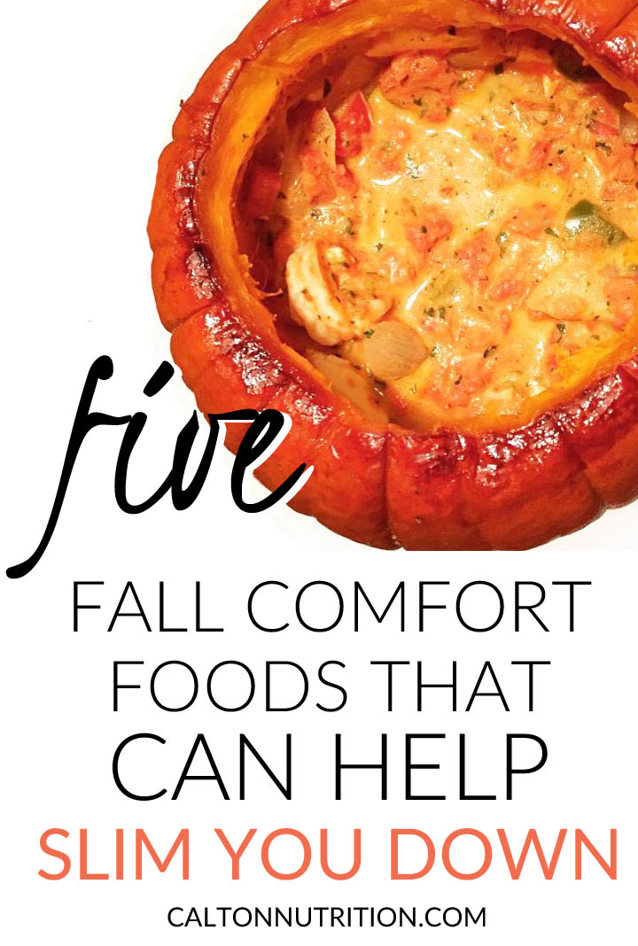 Fall comfort foods for slimming down | CaltonNutrition.com