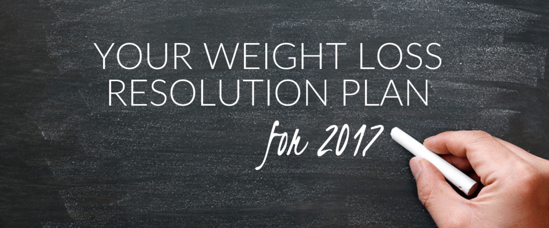 Your Weight Loss Resolution Plan for 2017
