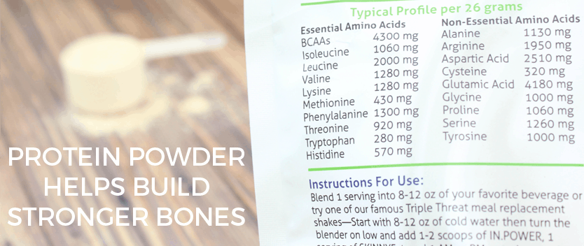 Protein Powder Helps Build Strong Bones