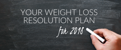 Your Weight Loss Resolution Plan for 2018