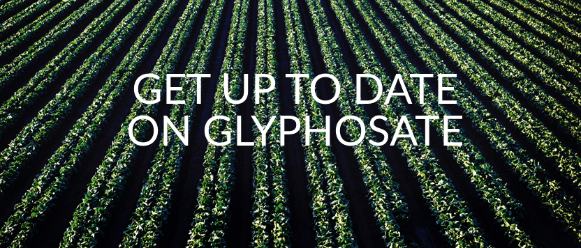 Get Up to Date on Glyphosate