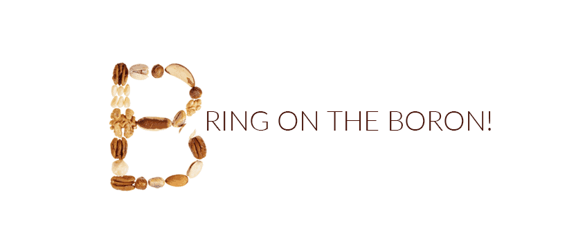 Bring On The Boron!