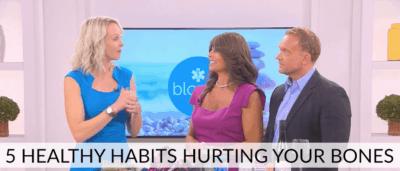 5 Healthy Habits Hurting Your Bones