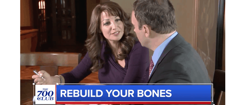 Rebuild Your Bones on The 700 Club