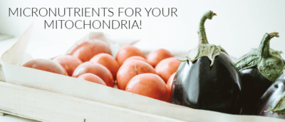 Micronutrients for your Mitochondria!