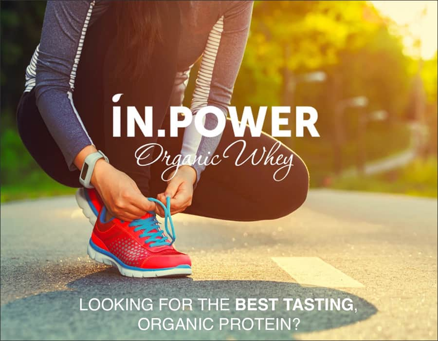In Power Organic Whey - Looking for the best tasting, organic protein?